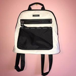 Calvin Klein Bags - WHITE CALVIN KLEIN BACKPACK